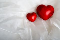 Free Two Red Hearts Stock Photos - 16188813