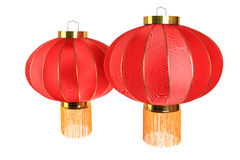 Two red lantern Royalty Free Stock Image