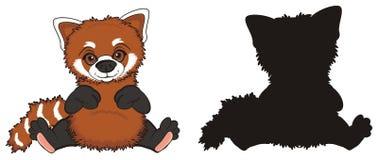 Two red pandas Royalty Free Stock Photos