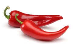 Two Red Pepper Stock Images