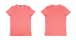 Two red tshirt Royalty Free Stock Photography