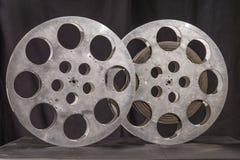Two reel of film in retro Stock Photo
