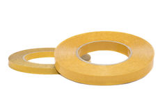 Two Reels Of Double Sided Tape Royalty Free Stock Photo