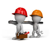 Two repairman stock illustration
