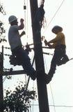 Two repairmen Royalty Free Stock Image