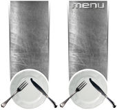 Two Restaurant Menu Banners Royalty Free Stock Image