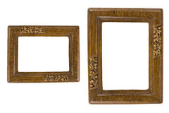 Two Retro photo frames Royalty Free Stock Photography
