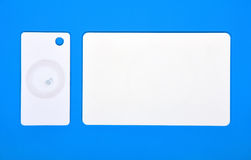 Two RFID cards Royalty Free Stock Images