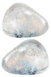 Two rhinestone (rock-crystal) gemstones Stock Images