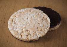 Two rice cracker Royalty Free Stock Photo