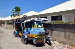 Two rickshaws strollers Royalty Free Stock Image