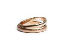 Two rings Stock Photography