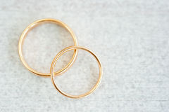 Two rings Royalty Free Stock Photos