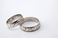 Two rings Stock Image