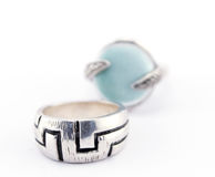 Two Rings Jewellery Royalty Free Stock Images