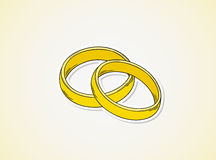 Two rings Royalty Free Stock Photo