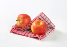 Two Ripe Apples Stock Photos