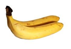 Two ripe banana Stock Photos