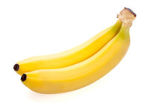 Two ripe banana Stock Image