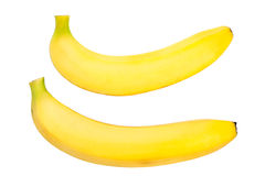 Two ripe banana Royalty Free Stock Images