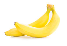 Two ripe banana. Royalty Free Stock Photography