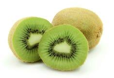 Two ripe kiwi Stock Images