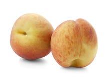 Two ripe peaches Stock Image