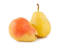 Two Ripe Pears Stock Photo