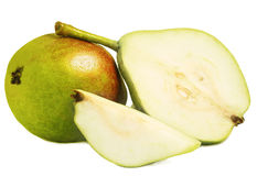 Two ripe pears Stock Image