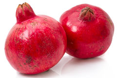 Two ripe pomegranate Royalty Free Stock Photo