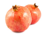 Two ripe pomegranates Royalty Free Stock Image