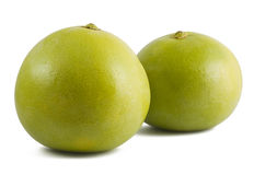 Two ripe pomelo Royalty Free Stock Photos