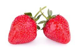 Free Two Ripe Strawberries Royalty Free Stock Photo - 42833665