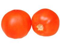 Two ripe tomatoes Stock Photo