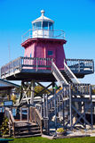 Two Rivers lighthouse Royalty Free Stock Photo