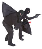Two robbers Stock Image
