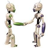 Two robots Stock Photos