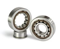 Two roller bearing Stock Photo