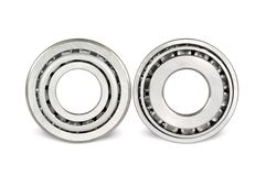 Two roller bearings Royalty Free Stock Image