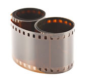 Two rolls of film Royalty Free Stock Image