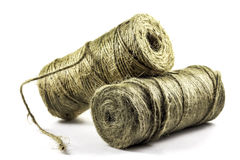 Two rolls of twine Stock Photos