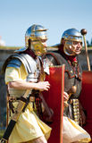 Two Roman soldiers Stock Photography