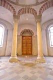 Two Romanesque pillars Royalty Free Stock Photos