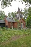 Two room schoolhouse 1886 Royalty Free Stock Photo