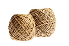 Two rope balls Royalty Free Stock Images