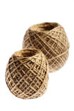 Two rope balls Stock Image