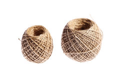 Two rope balls Royalty Free Stock Photography