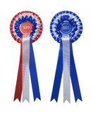 Two rosettes Stock Photography