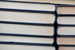Two row of books Royalty Free Stock Photography