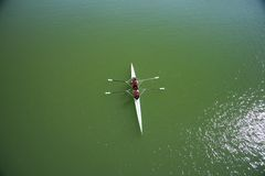 Two rowers Royalty Free Stock Photography
